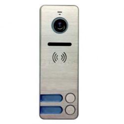 iPanel 2 (Metal) 2 аб. Цветная вызывная панель видеодомофона на 2 абонента