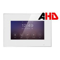 """Marilyn HD Монитор видеодомофона 7"""" TFT,емкостной экран,белый с поддержкой форматов 1080р/720p/CVBS, разрешение 800х480, hands free Встроенная память на 100 фото."""