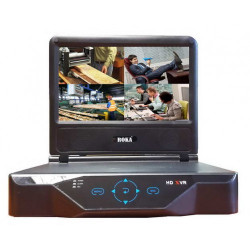 "R-HDVR-LCD0801 (2Мп)  LCD-экран 10"" 8-канальный Гибридный видеорегистратор (Analog/AHD/IP/TVI)"