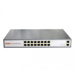 R-KM-POE1601 Коммутатор 16 портов 16 PoE