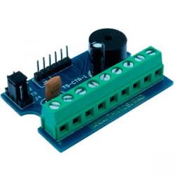 TS-CTR-1 Автономный контроллер (без корпуса), протокол подключения считывателей TM или Wiegand-26