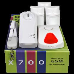 X-100 Комплект GSM-сигнализации